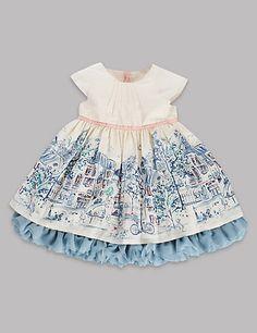 Painterly Floral Dress | M&S