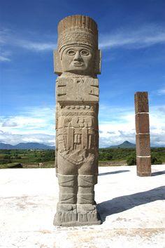 Atlante, Zona Arqueológica, Tula de Allende  - www.hidalgo.travel -