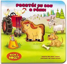 Livro Aperta e Apita - Pocotó! Eu Sou o Pônei - por The Clever Factory | As crianças vão se divertir com este livro sonoro enquanto apertam o bichinho que interage com a história!