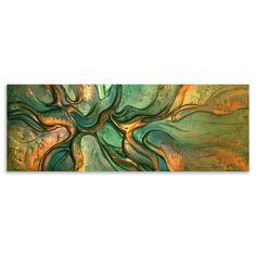 ACHICA | Victoria Stothard - Firefly Dance II, Mixed Media on Canvas, 80 x 30cm
