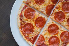 Cast Iron Skillet Grain and Gluten Free Pizza #paleo #primal #dairy #glutenfree