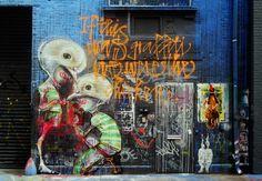 Love her stytle! Herakut in NYC - unurth   street art