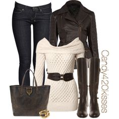 I can create this by shopping in my closet...just need the belt!