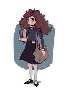 Hermione Granger by juliaphlox