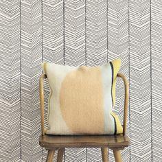 Papier peint en rouleau Chevrons Herringbone Ferm Living