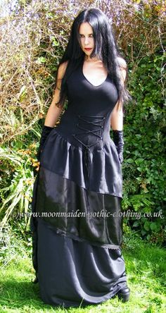 Lacuna Gown by Moonmaiden Gothic Clothing UK