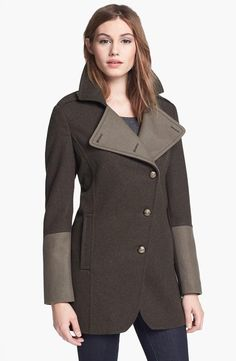 Keep warm with a Kenneth Cole Military Coat.