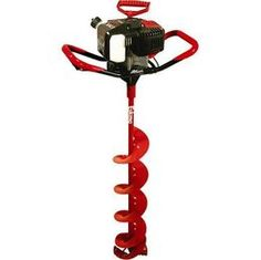 ice fishing auger