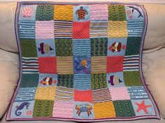 Beneath The Sea (Mystery Blanket 2010) by Debbie Abrahams