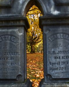 The Cemetary by Russ Scheid, via 500px #composition