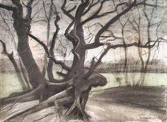 Van Gogh. Boomwortels in een zandgrond, april-mei 1882