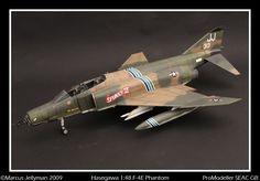 - F-4E Phantome Korat, Landing Gear, Tamiya, Box Art, Military Aircraft, Fighter Jets, Hunting