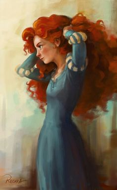 30 day Disney challenge Day 13 Favorite Outfit...Merida's!
