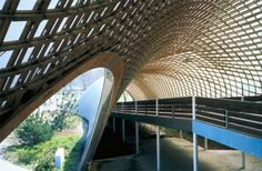 Roof for the Multihalle (multi-purpose hall) in Mannheim. Image © Atelier Frei Otto Warmbronn