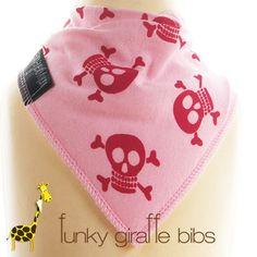 Funky Giraffe bibs: just bought a dozen of these. Sooo useful.