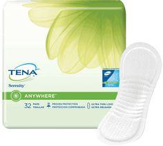 """CA/128 - TENA Serenity Ultra Thin Heavy Absorbency Pads 13"""""""