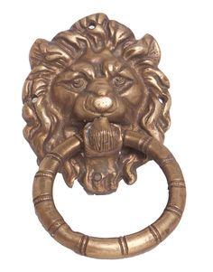 Brass Lion Doorknocker