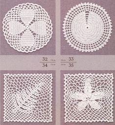 모티브도안100/ 코바늘 모티브뜨기 8 Crochet Squares, Crochet Motif, Motif Design, Doilies, Diy And Crafts, Crochet Earrings, Kids Rugs, Blog, Napkin