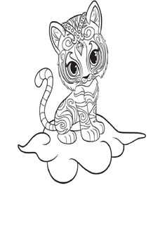 Get The Latest Free Shimmer And Shine Coloring Pages Images Favorite To Print Online By ONLY COLORING