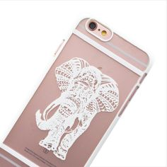 White Spirit Elephant Phone Case