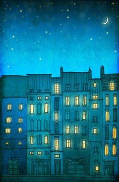 Paris illustration - You are not alone: