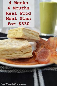 Frugal Real Food Meal Plan: February 2014