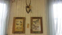 #vlinders; nu mooi aan de muur bij Geliefde vondsten
