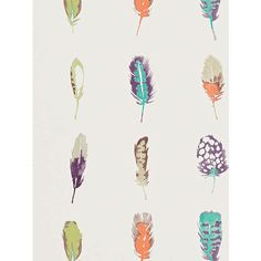 BuyHarlequin Limosa Wallpaper, Loganberry/Papaya, 111073 Online at johnlewis.com
