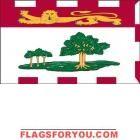 3' x 5' Prince Edward Island High Wind, US Made Flag Mini Flags, Prince Edward Island, House Flags, Garden Flags