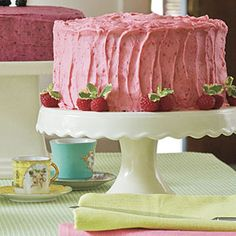 Raspberry Buttercream Frosting | MyRecipes.com