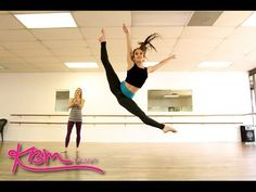 This video is to help in learning to Jump and leap. Krista Miller teaches how to do a jazz Renverse' jump. Could use in jazz for comp.