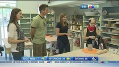 The CTV Winnipeg crew came out to make some ceramic mugs with our instructor Crystal Nykoluk. Winnipeg Art Gallery, Norway House, 14 Year Old Girl, Ceramic Mugs, Coming Out, Earth, Crystal, Ceramics, How To Make