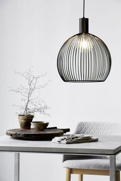 Contemporary Lighting Tips on How to Match Your Contemporary Home Design With Modern Lighting Nordlux Aver 40 Pendant Light Black DFTP. Copper Pendant Lights, Black Pendant Light, Pendant Lamp, Pendant Lighting, Black Pendants, Copper Lighting, Globe Pendant, Suspension Metal, Suspension Design