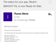 1st appstore moment