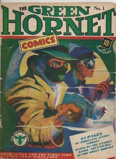 Green Hornet #1 Golden Age Holyoke 1940 & Vintage Green Hornet Comic Collection