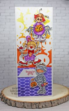 A Krafty Komeback... You're a Scream! You Are Invited, Special Promotion, Scream, My Images, I Card, Stencils, Backdrops, Whimsical, The Incredibles