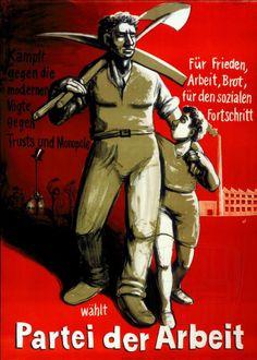 Le système politique suisse, avec ses élections au niveau communal, cantonal et fédéral, procure de nombreuses opportunités de mise en scène du monde ouvrier. On le retrouve donc fréquemment sur les affiches liées au Parti socialiste et au Parti du travail et parfois aussi, même si elles sont plus rares, du côté de la droite et de l'extrême-droite, en particulier dans l'entre-deux-guerres. Trust, Deadpool, Joker, Comic Books, Superhero, Comics, Fictional Characters, Vintage, Political System