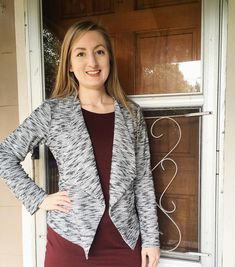 Butterick 6330 sweater/jacket by @soisewedthis