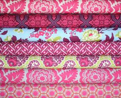 Cameo Fabric bundle by Amy Butler for Westminster by fabricshoppe