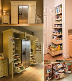 5 Cool and Creative Kitchen Pantry Designs - http://www.amazinginteriordesign.com/5-cool-creative-kitchen-pantry-designs/