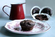 Magdalenas de Chocolate: Muffins de coco y chocolate super ligeros