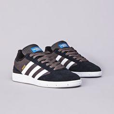 Adidas Busenitz Black1 / Running White / Dark Cinder | Flatspot