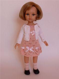 Платье и кофточка для куколок Паола Рейна / Одежда для кукол / Шопик. Продать купить куклу / Бэйбики. Куклы фото. Одежда для кукол