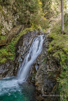 Günstner Waterfall  -   near Murau in Styria / AUSTRIA - via Robert SKREINER
