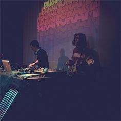 Cesar & Dr Blux / Paranorama Release Party / La Bellevilloise