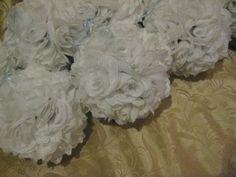 Wedding, Flowers, Reception, White, Ceremony, Bridesmaids, Decor, Rose