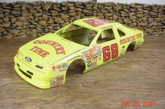 Thunderbird #68 Country Time Bobby Hamilton NASCAR Model Kit BODY ONLY 1/24 1/25 #UnknownQsD Bobby Hamilton, Model Kits, Nascar, Country, Rural Area, Country Music