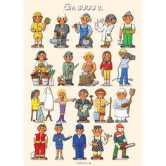 Tematický obraz: Čím budu 2 Community Workers, Community Helpers, Preschool Education, Teaching Kids, Learning English For Kids, Education English, Creative Kids, Child Development, Day Care