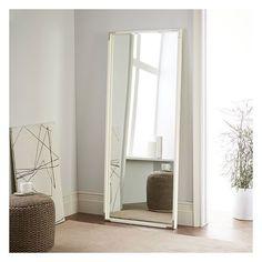 Malone Campaign Floor Mirror - Walnut | Floor mirror, Hardware and ...