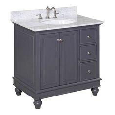 "Found it at Joss & Main - Bella 36"" Single Bathroom Vanity Set by Kitchen Bath Collection"